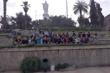 Salida pedagógica Cerro san cristóbal